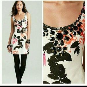 Lily Pultizer Portia Dress Floral Embellished